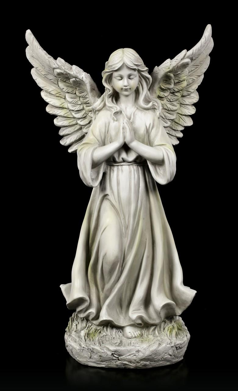 Angel Garden Figurine - Praying with closed Eyes