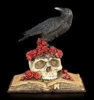 Raven Figurine - Heartaches Reflection