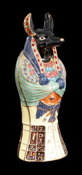 Kleine Ägyptische Schatulle - Anubis Sarkophag
