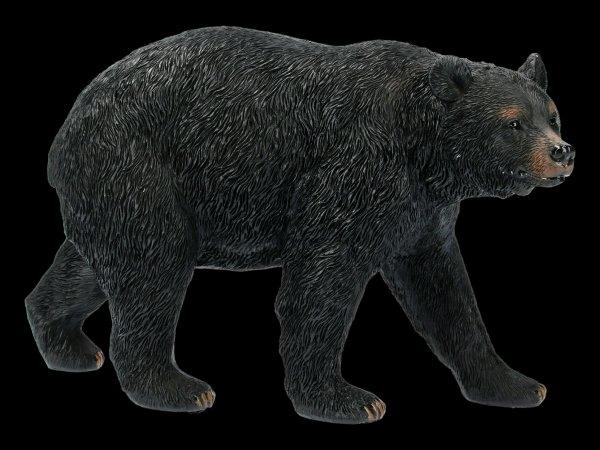 Schwarzbär Figur gehend