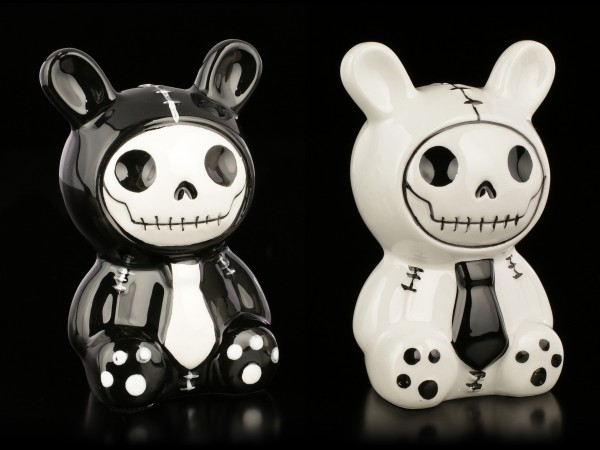 Furry Bones Salt and Pepper Shaker - Bun-Bun