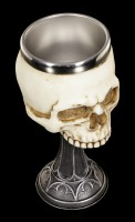 Goblet - Skull Chalice by Anne Stokes