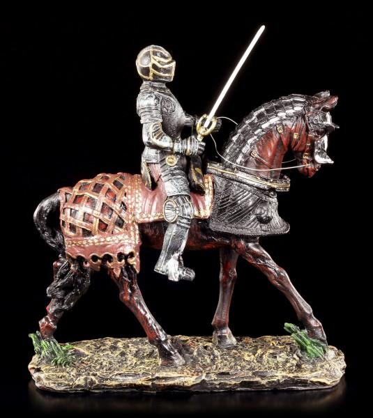 Ritter Figur - Kavalier auf Pferd