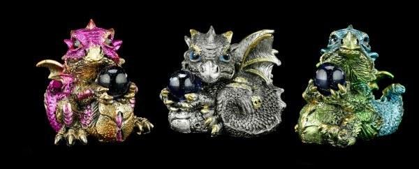Drachen Figuren 3er Set - Das Geschenk