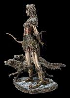 Skadi Figurine - Nordic Goddess of Winter