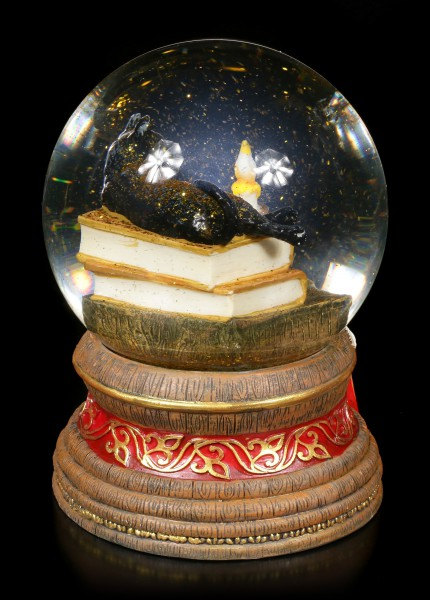 Snowglobe with Cat - Witching Hour