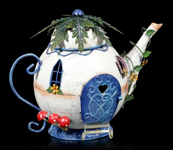 Fairy Metal House - Tubby Teapot