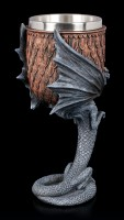 Dragon Goblet by Anne Stokes