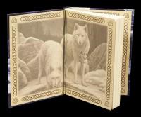 Embossed Journal Wolves - Warriors of Winter