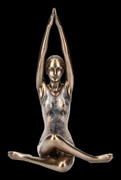 Female Yoga Figurine - Surya Namaskar Position