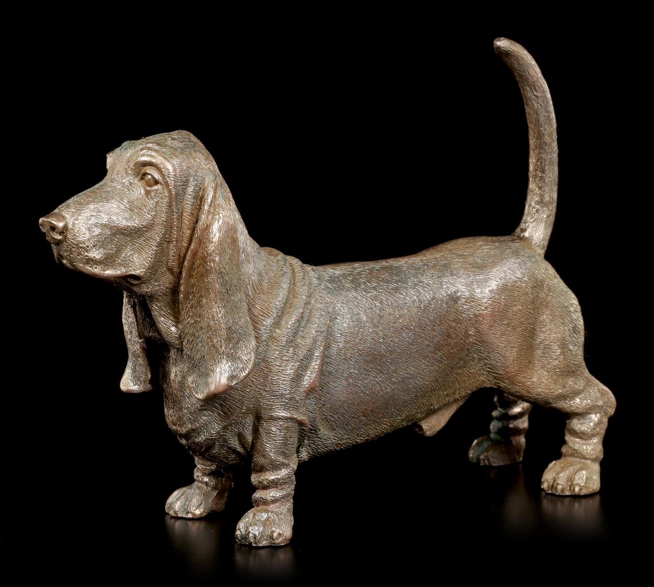 Hunde Figur - Basset Hound stehend