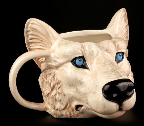 Keramik Tasse - Wolf