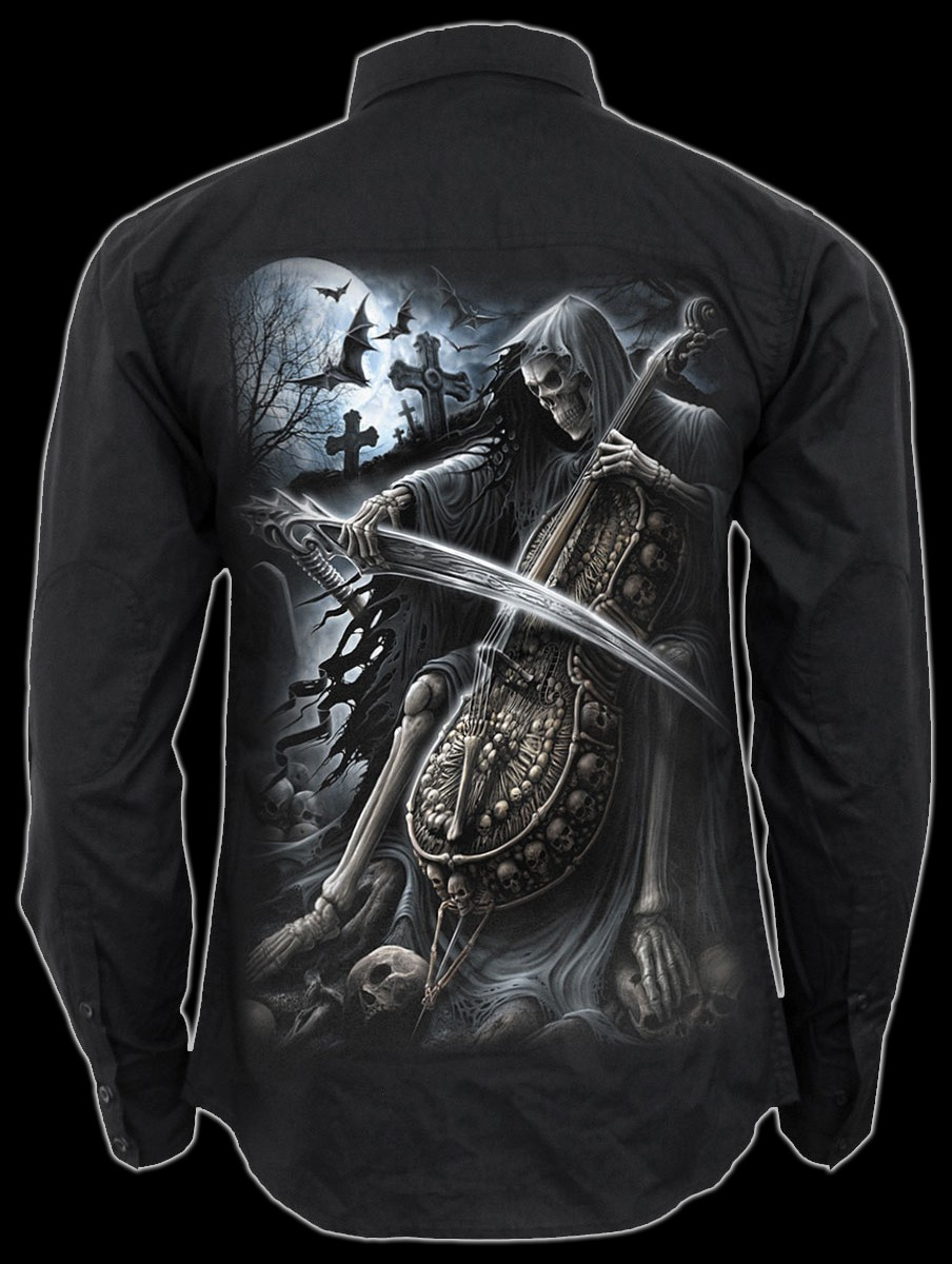 Symphony of Death - Gothic Casual Shirt