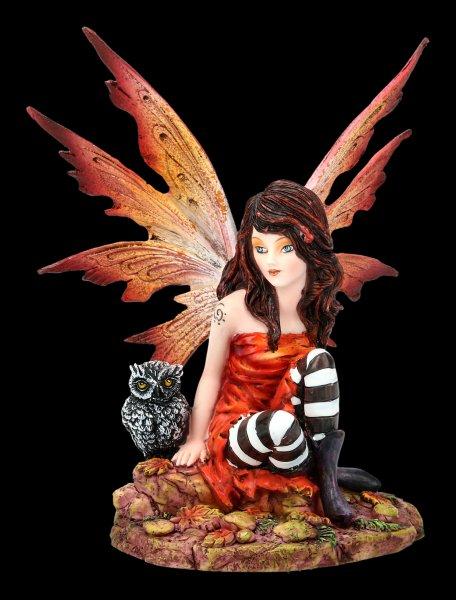 Fairy Figurine - Mali with Owl