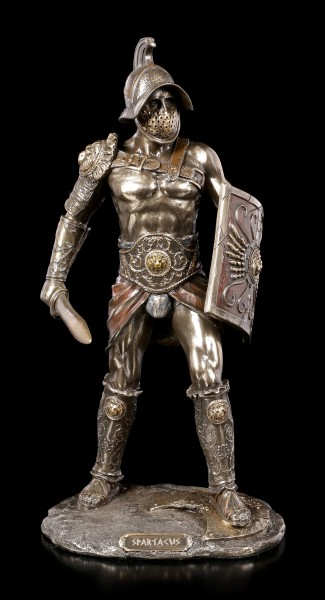 Gladiator Figurine - Spartacus with Schield and Sword