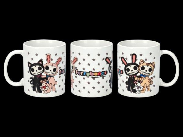 Furrybones Ceramic Mug - Bun-Bun & Mao-Mao