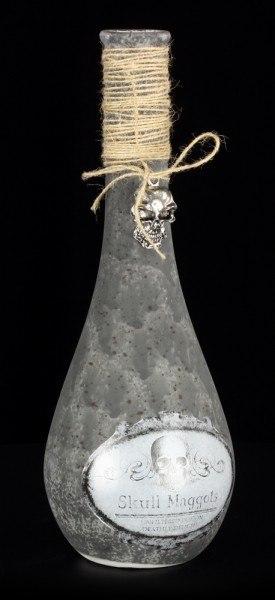 Flasche - Totenkopf Maden