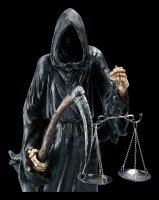 Reaper Figur mit Sense und Waage - Final Check