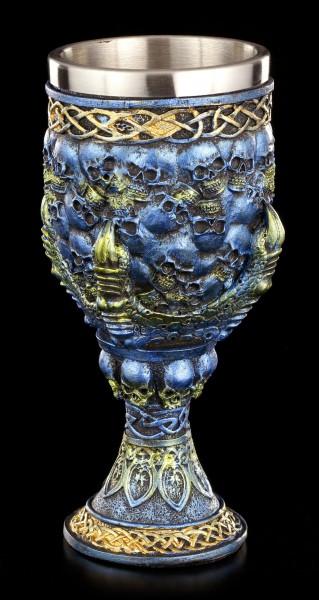 Kelch Drachenklaue blau - Cobalt Grip of Death