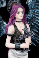 Dark Guardian Angel Figurine - Tira with Holy Cross