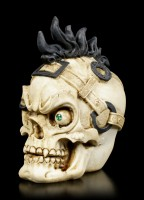 Small Skull with Mohican Haircut