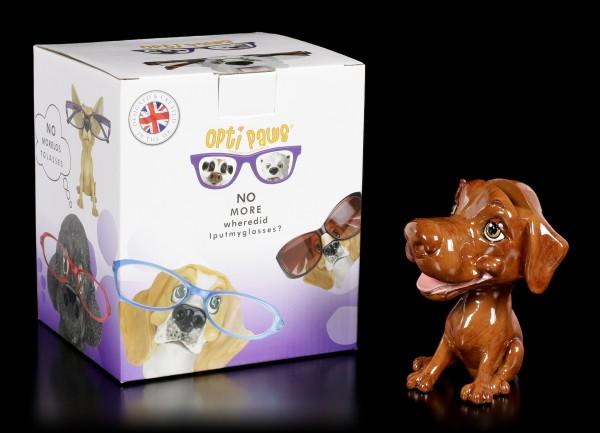 Glasses Holder Dog - Chocolate Labrador - Opti Paws