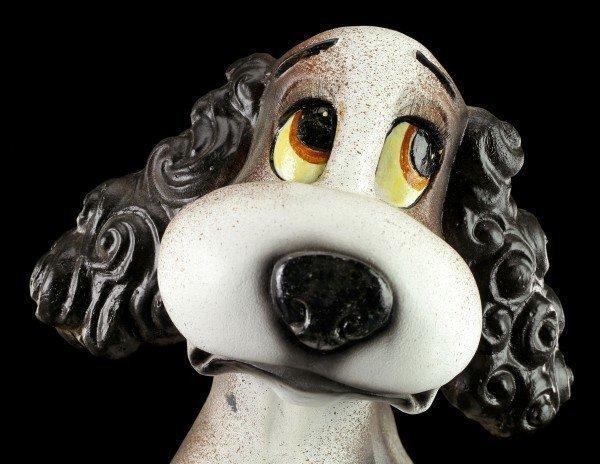 Lustige Hunde Figur - Cocker Spaniel
