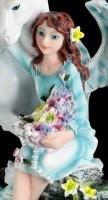 Angel Figurine - Avari with Unicorn