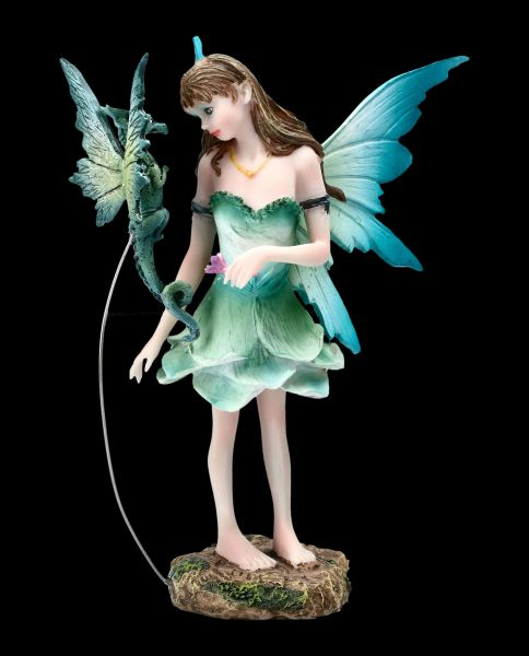 Fairy Figurine - Gruni with Dragon