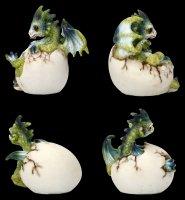 Drachen Figuren - Hatchlings Emergence - 4er Set