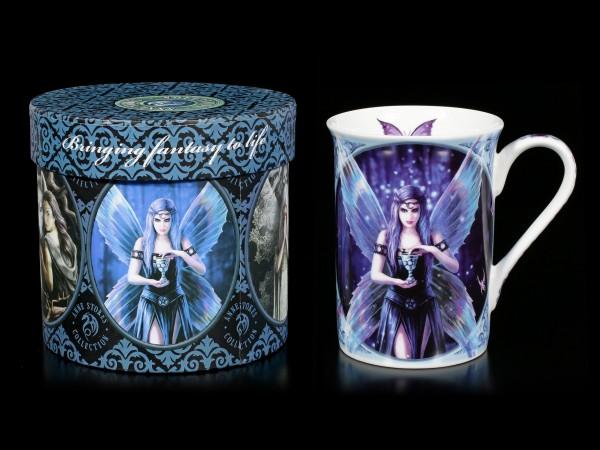 Porzellan Tasse mit Elfe - Enchantment