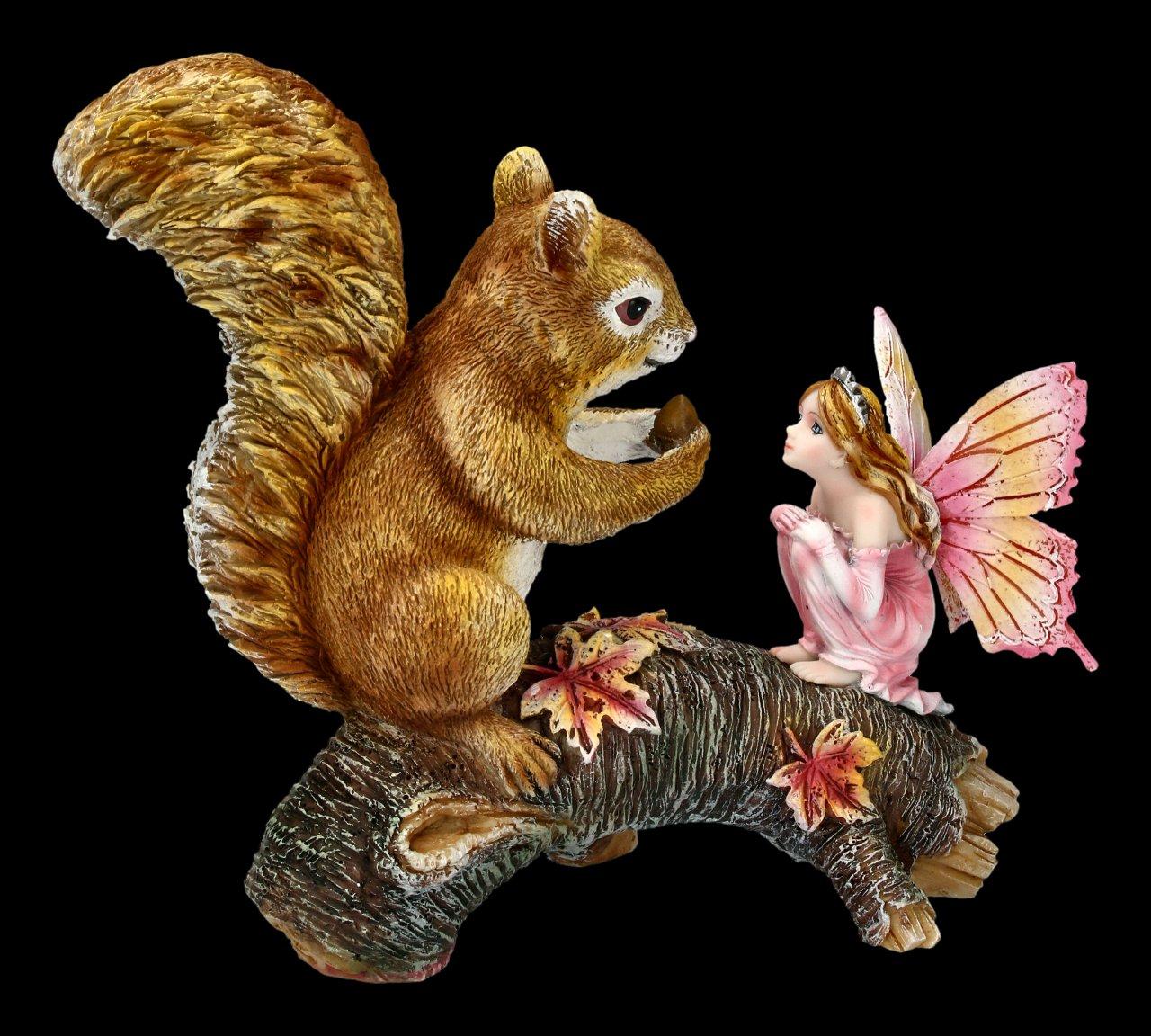 Forest Fairy Figurine - Animalia with Squirrel