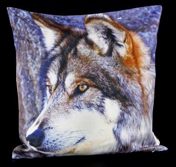 Kissenbezug - Wolfskopf
