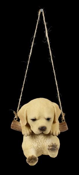 Hängende Hunde Figur - Labrador Welpe