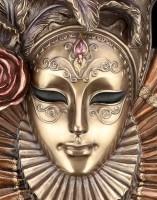 Venetian Mask - Rose Blossom