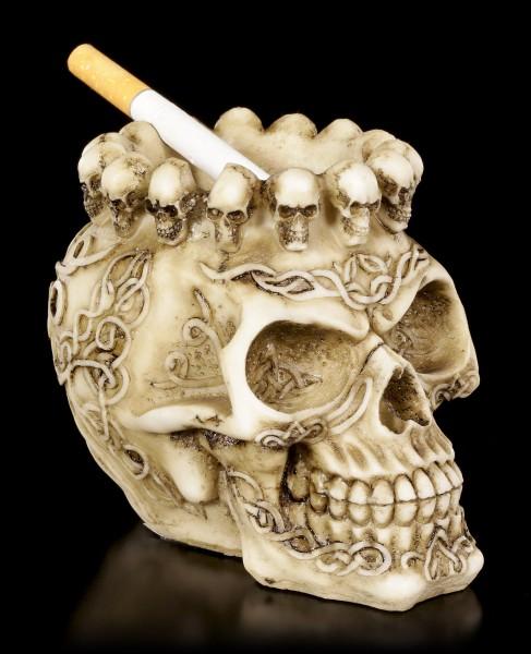 Totenkopf Aschenbecher oder Teelichthalter