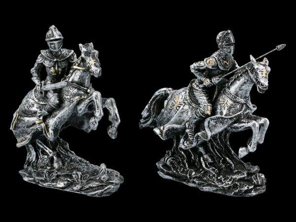 Ritter Figuren Set auf Pferden