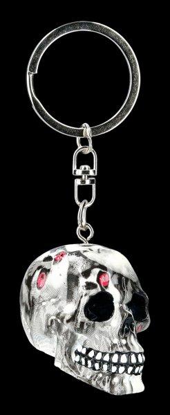 Keyring Skull - Bloodshot