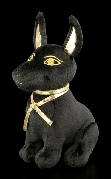 Egyptian Plush Figurine - Anubis