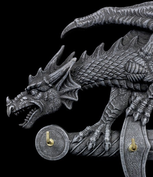 Dragon on Sword Key Hanger
