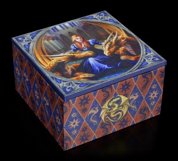 Mirror Box with Dragons - Fierce Loyalty