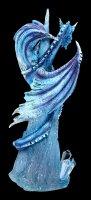 Eis Drachen Figur - Crystal Custodian