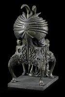 Satan Goat Figurine on Throne
