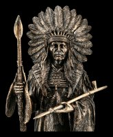 Indian Chief Figurine with Pipe of Peace