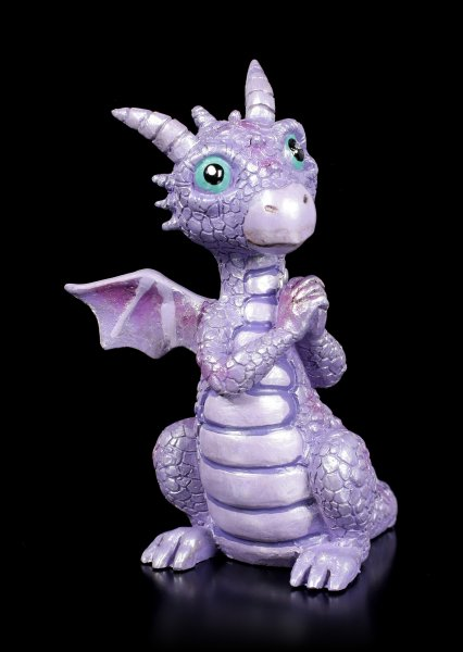 Cute Dragon Figurine - Begging Freddie
