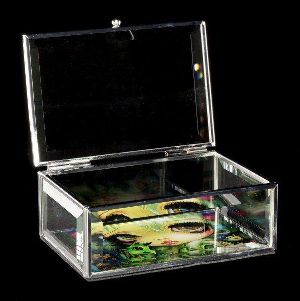 Glass Jewellery Box Fairy - Darling Dragonling