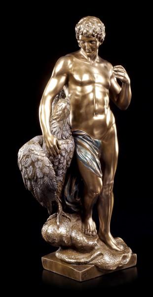 Ganymed Figur mit Zeus Adler