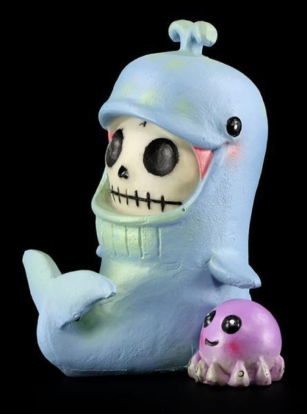 Furry Bones Figur - Whale