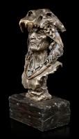 Große Indianer Büste - Achak