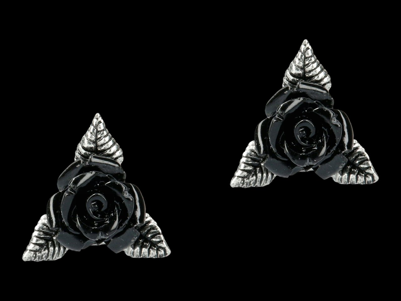 Alchemy Gothic Ear Studs - Ring of Roses